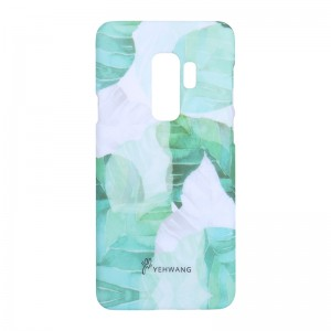 Phone Case Samsung Galaxy S9+ Green Leaves
