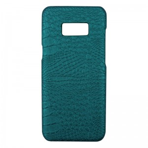 Phone Case Samsung Galaxy S8 Green Croco