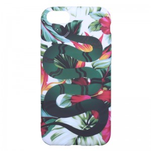 Phone Case iPhone 6/7/8 Flower Snake