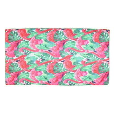 Beach Towel Long Flamingo Jungle
