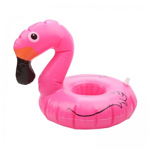 Inflatable Cup Holder Big Flamingo