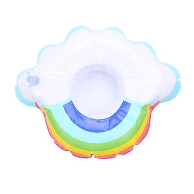 Inflatable Cup Holder Rainbow Cloud