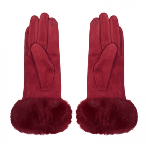 Gloves Fur Edge