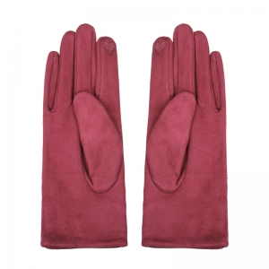 Gloves Leather Bow