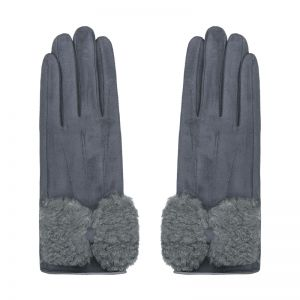 Gloves sheep fur