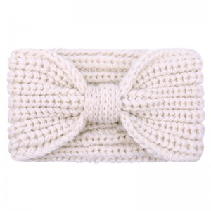 Headband Winter Bow