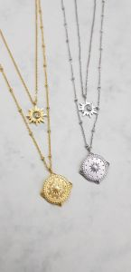Necklace Compass Star