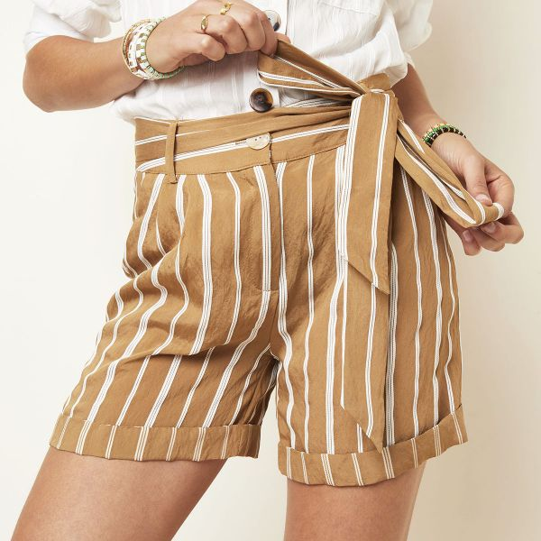 Pantalones cortos perfect stripe