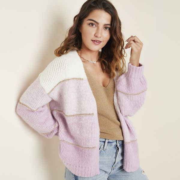 Cardigan wool candy