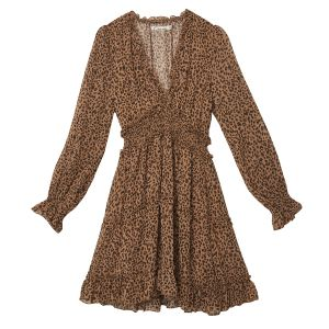 Dress Autumn Leopard