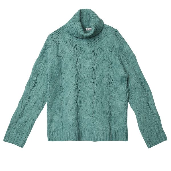 Pull-over Cable Knit