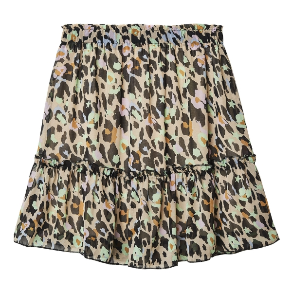 Falda leopard colors