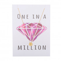 Postkarte One in a million