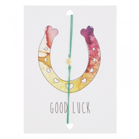 "Postcard ""Good Luck"""