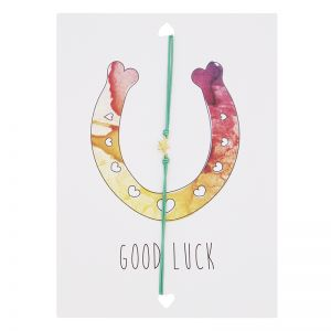 "Postkarte ""Good Luck"""