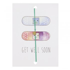 "Postcard ""Get well soon"""