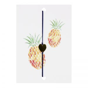 "Postkarte ""Pineapple Heart"""
