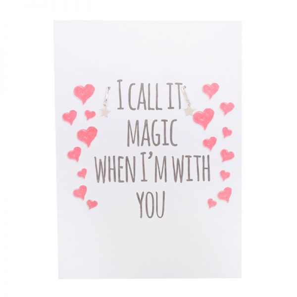 Postard I call it magic when i'm with you