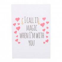 Postcard I call it magic when i'm with you