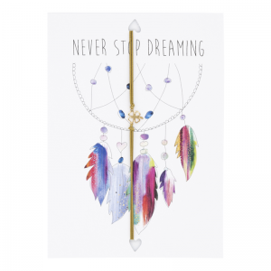 Postcard Never Stop Dreaming