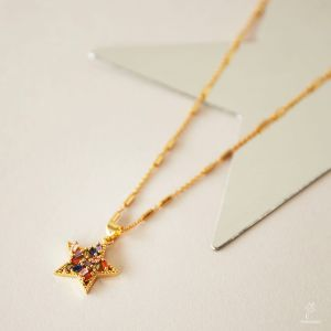 Necklace Zircon Star