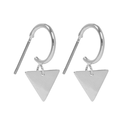 Oorbellen Dangle Triangle