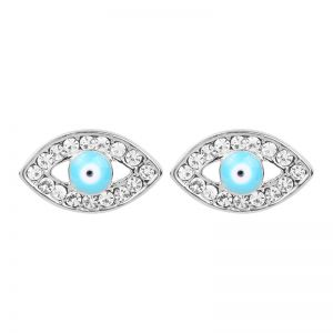 Earrings Blue Eyes