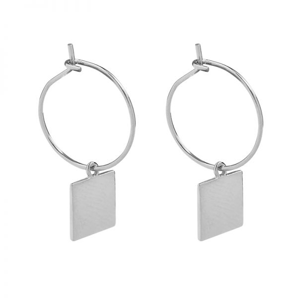 Earrings Trend Square