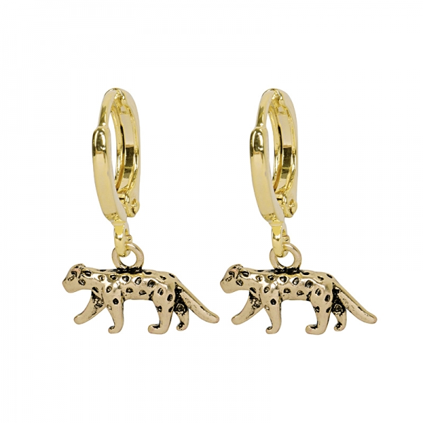 Earrings Lucky Leopard