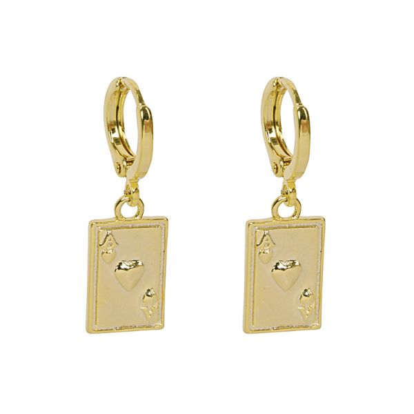 Boucles d'oreilles Ace Of Cards