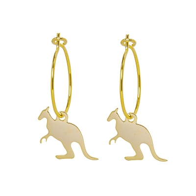 Earrings Basic Kangaroo