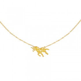 Ketting Stylish Walking Unicorn