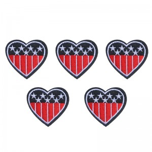Jeans Patch US Heart