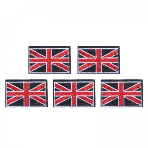 Jeans Patch UK Flag