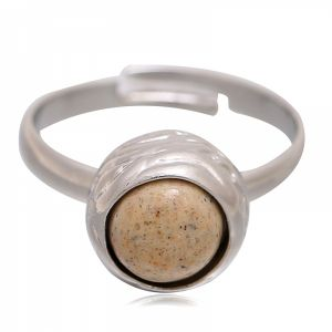 Ring small marble #18