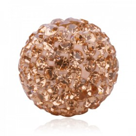 Ball Strass -champagne- size 18
