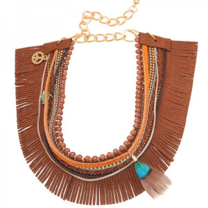 Bootbelt Fringes -Blue-
