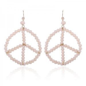 Earring Peace -off-white-