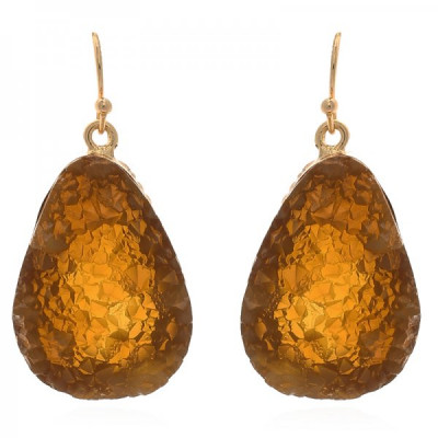 Earrings Cindy -brown-