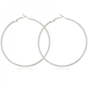 Earrings Renate #7 -silver-