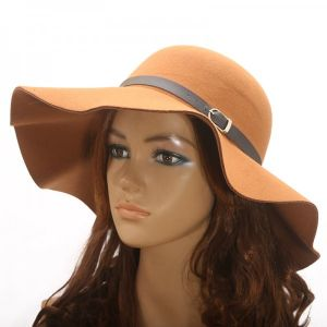 Hat Fashion -Brown-