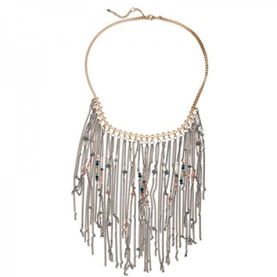 Necklace Uho -grey-