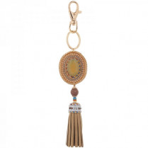 Key ring Feste -taupe-