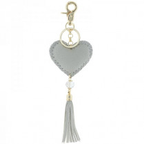 Key ring Hart -gray-
