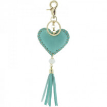 Key ring Hart -green-