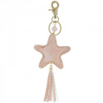 Key ring Ster -pink-