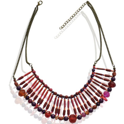 Necklace Gina -red-