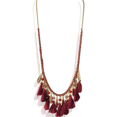 Necklace Hola -red-