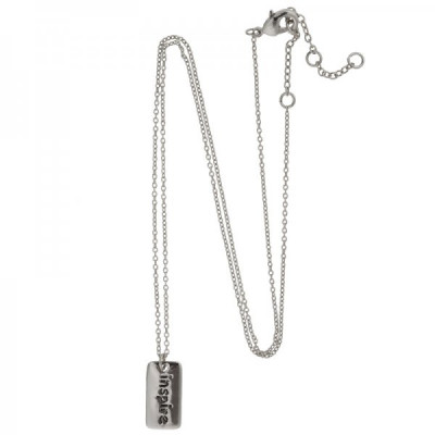Necklace Label Inspire -Silver-