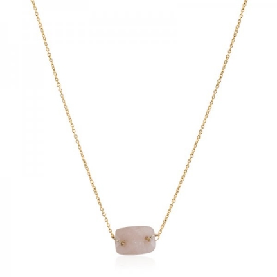 Necklace Minimal -light orange-